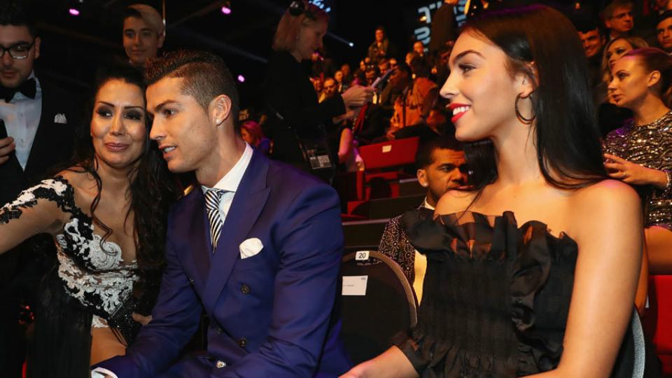 Ronaldo dan Georgina Rodriguez